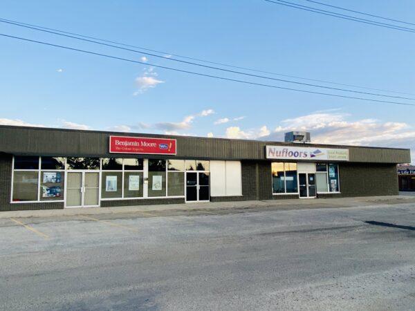 Nufloors Slave Lake Storefront