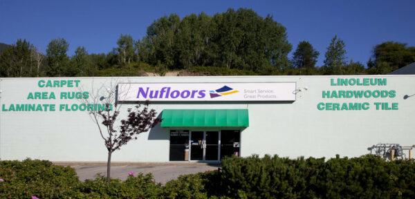 Nufloors Castlegar Store Front