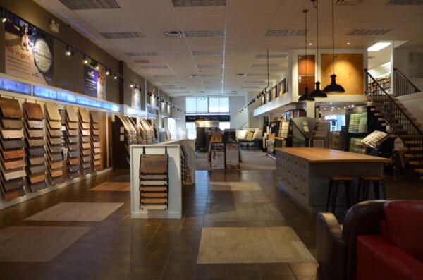 Nufloors Langley Store Interior
