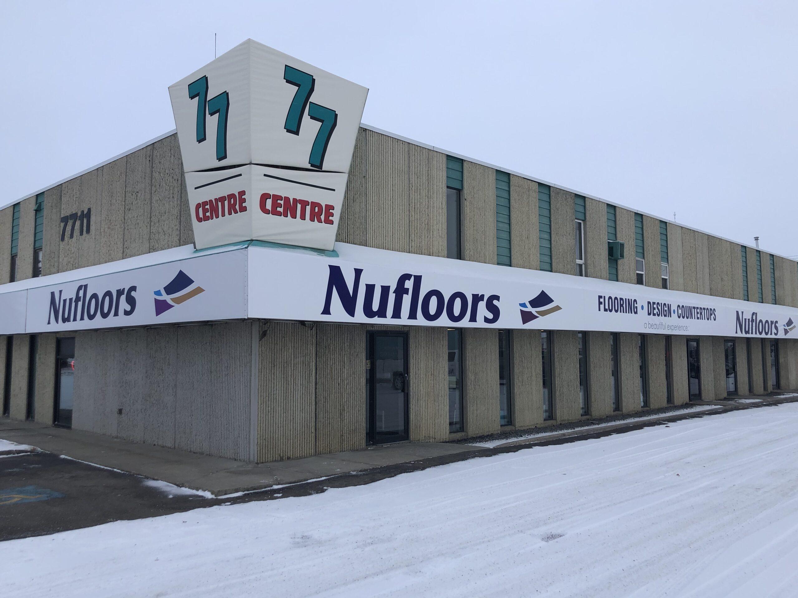 Nufloors Red Deer Store Exterior