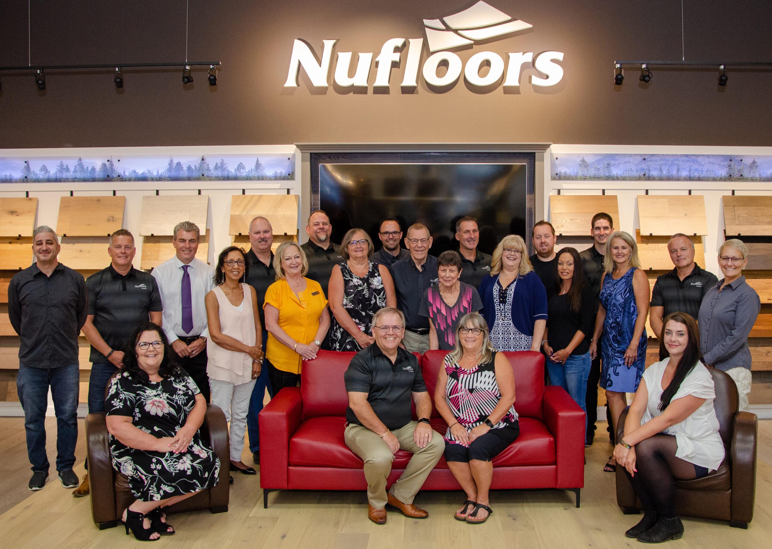 Nufloors Langley Team Shot