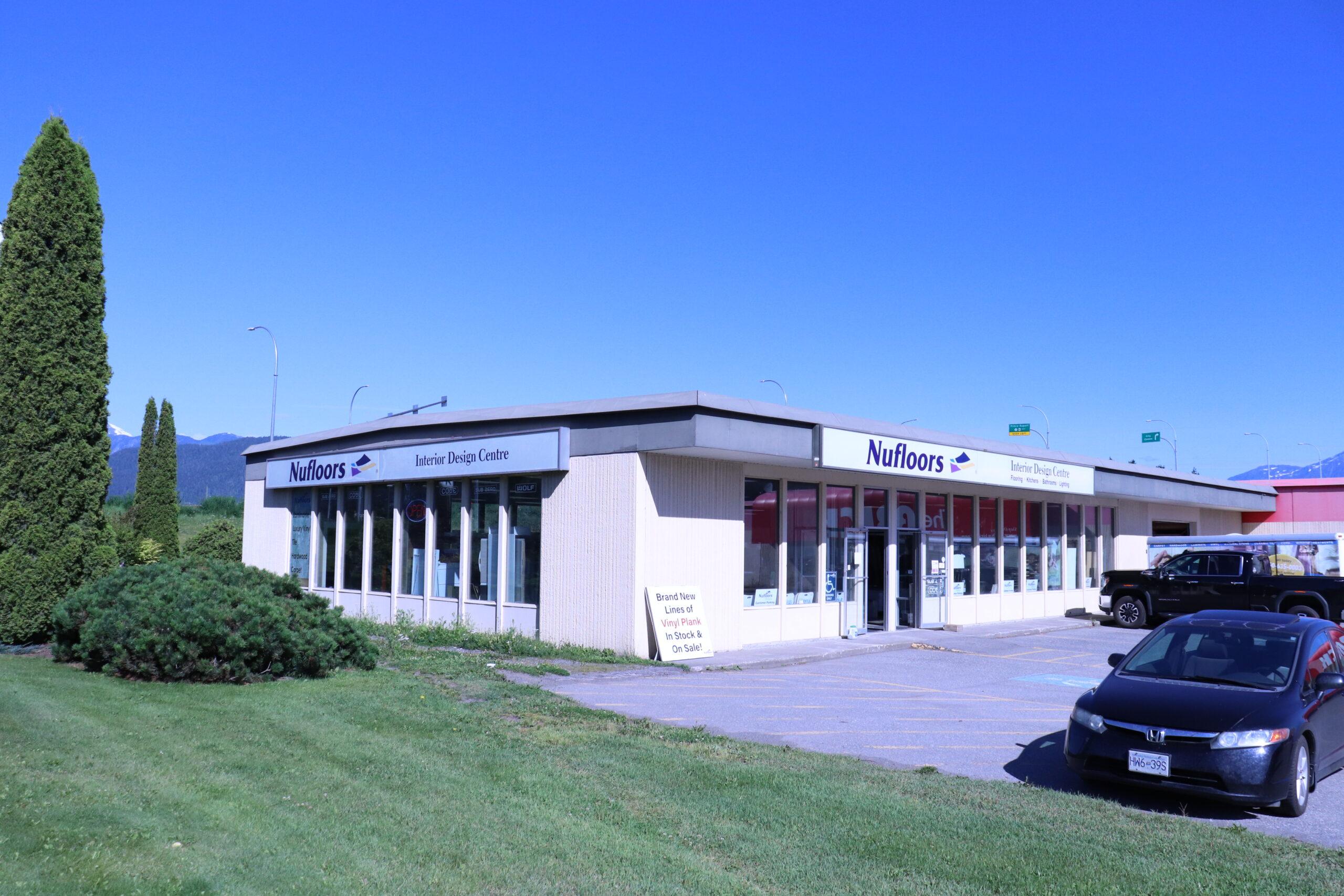 Exterior of Nufloors Terrace Store