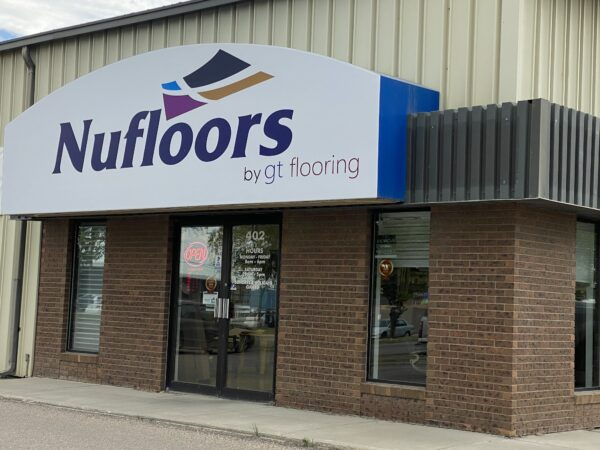 Nufloors Saskatoon Storefront