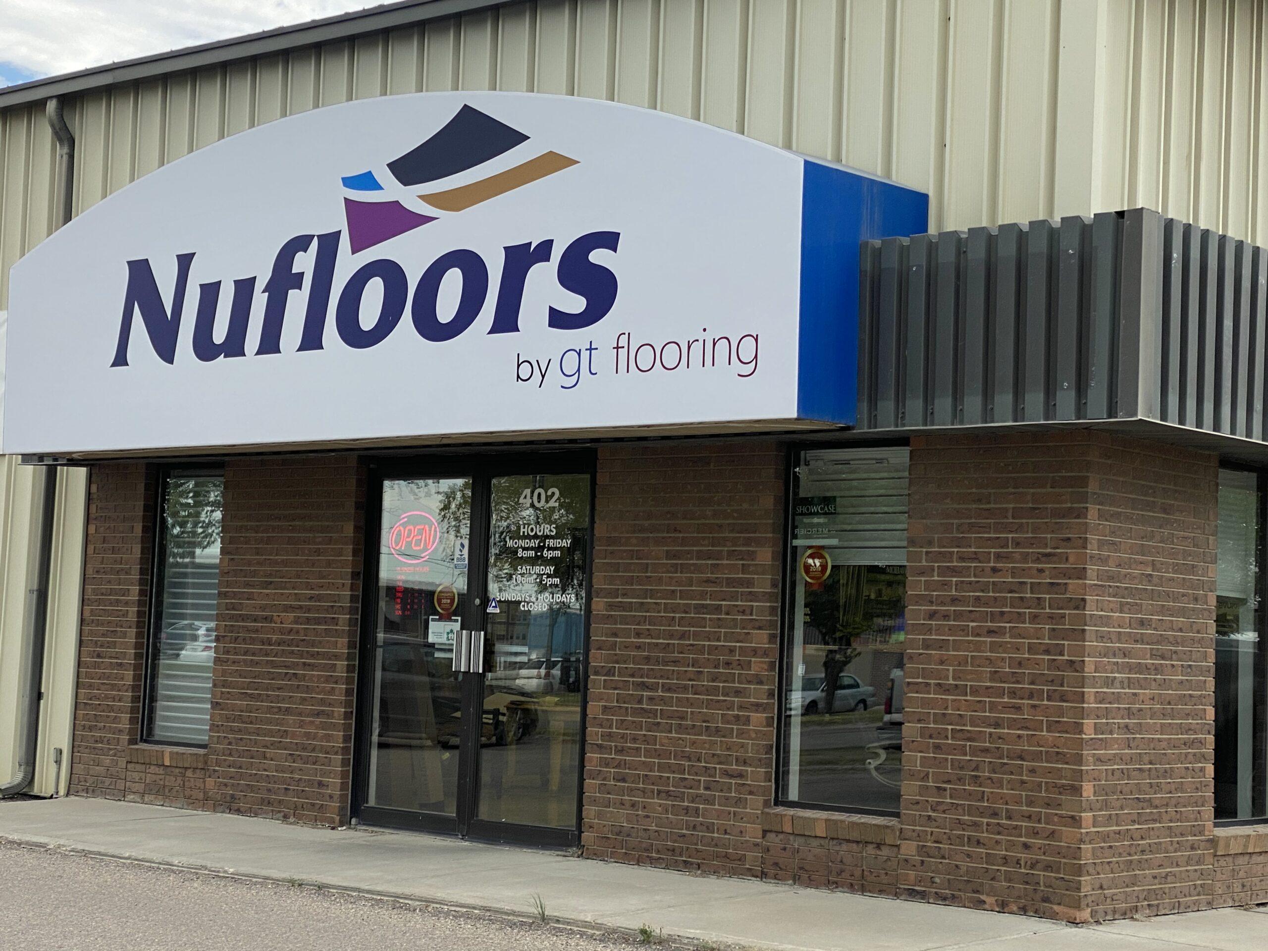 Nufloors Saskatoon Store Exterior