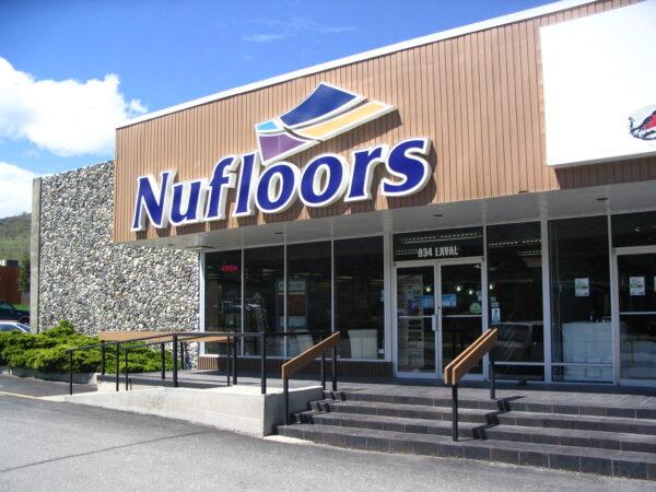 Nufloors Kamloops Storefront