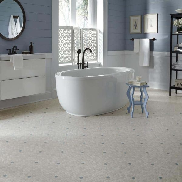 Penny Lane, colour: Marble Opal, by Mannington