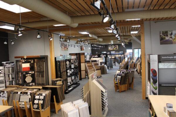 Nufloors Salmon Arm Store Interior