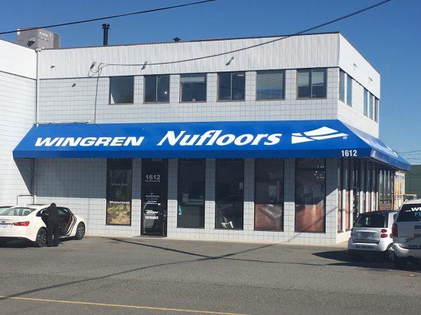 Nufloors Nanaimo Storefront