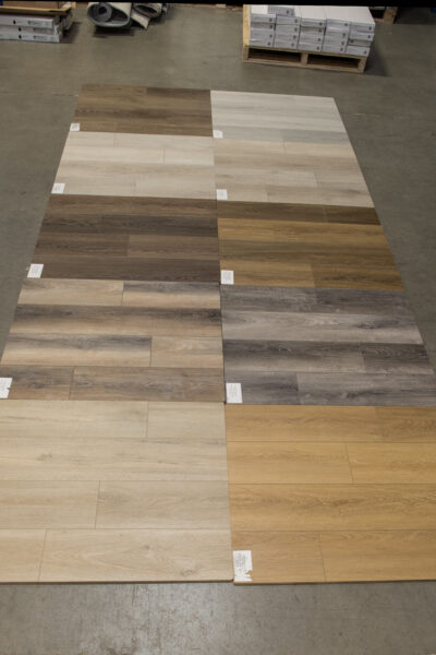 Nufloors Camrose Hardwood Samples