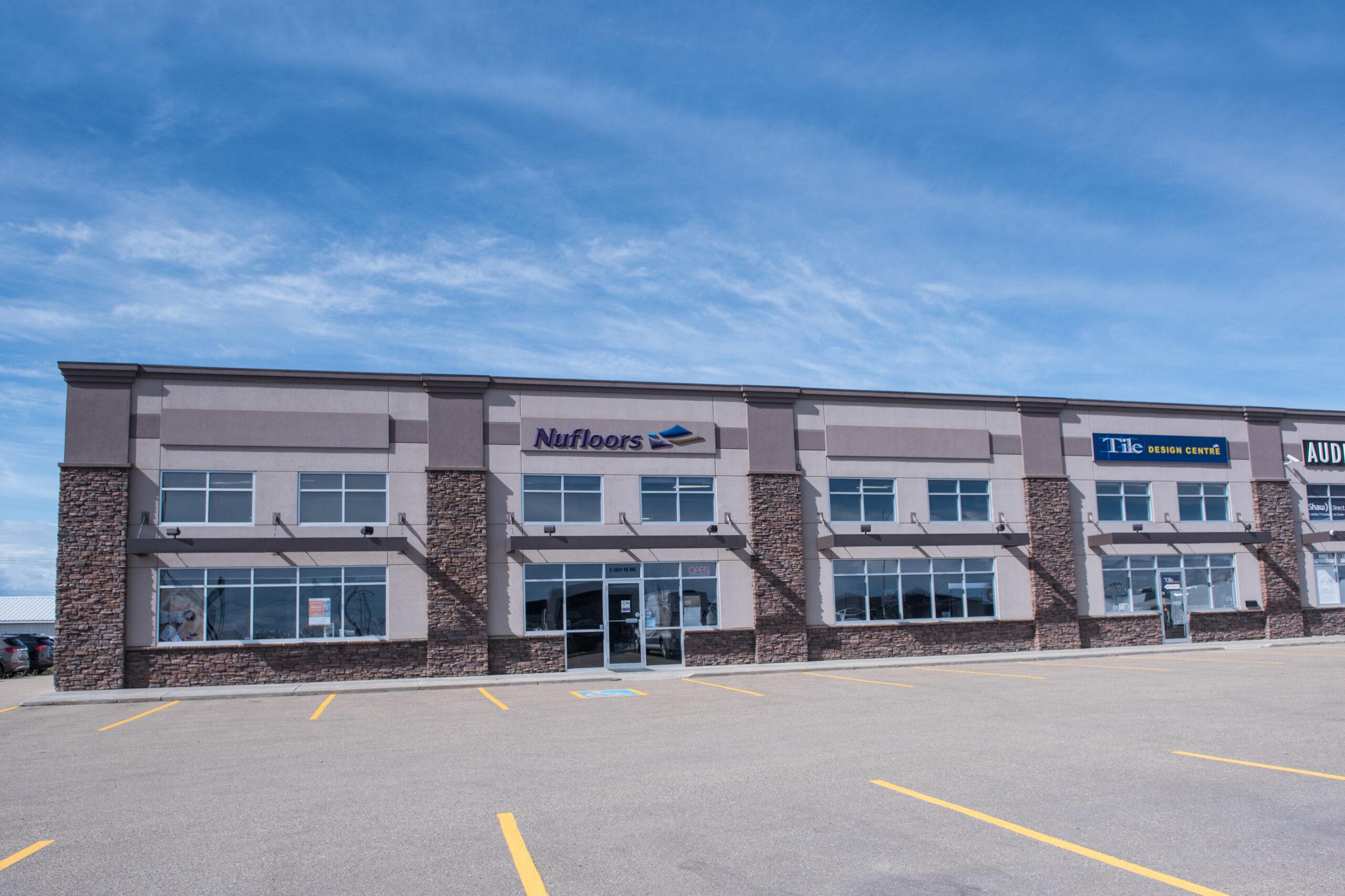 Nufloors Camrose Store Exterior