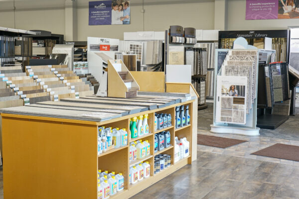 Nufloors Penticton Store Interior