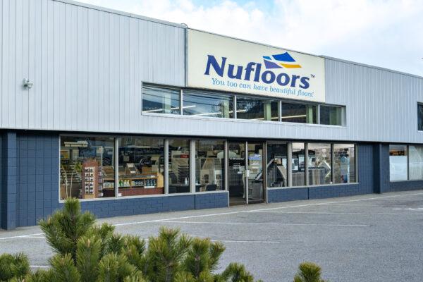 Nufloors Penticton Storefront
