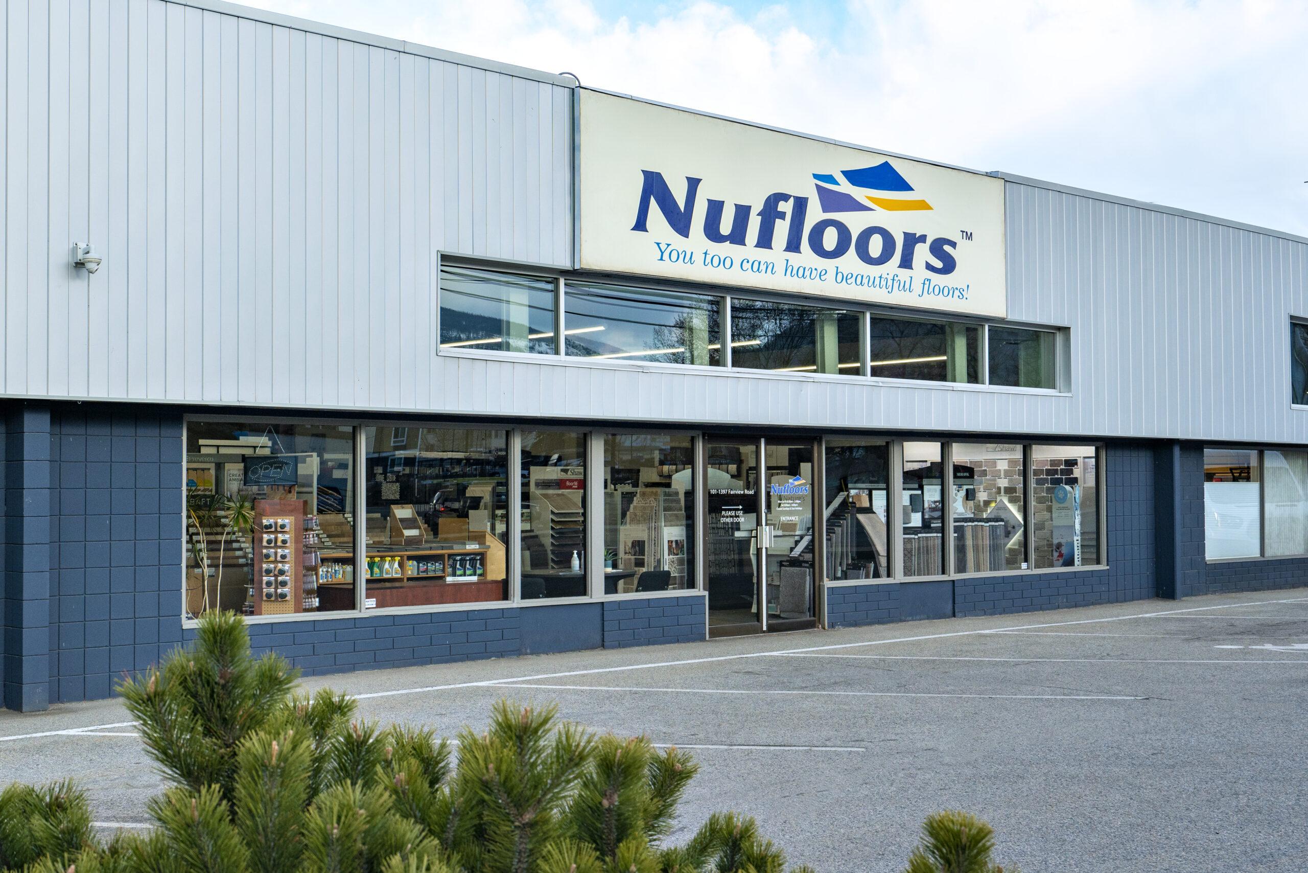 Nufloors Penticton Store Exterior