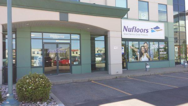 Nufloors Sherwood Park Storefront