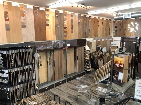 Nufloors Nanaimo Showroom Interior