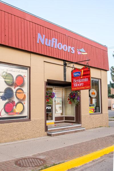 Nufloors Fernie Storefront