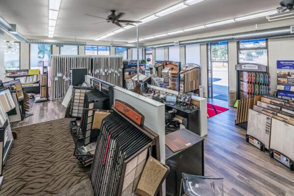 Nufloors Nanaimo Store Interior