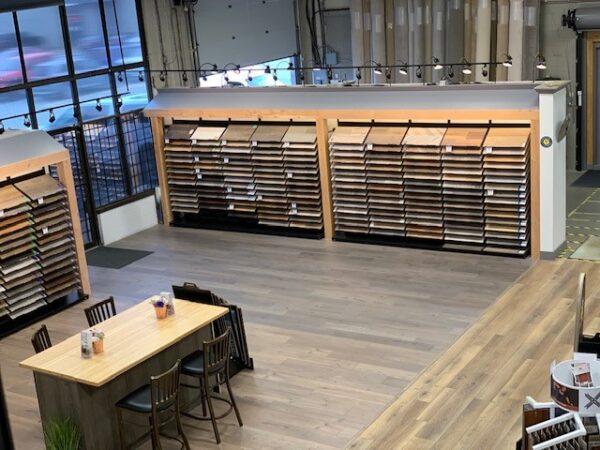 Nufloors Langley Showroom Interior