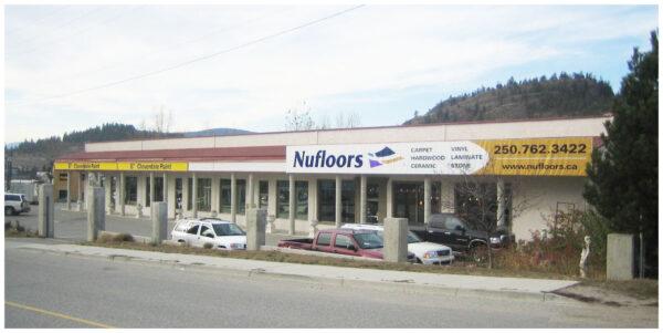 Nufloors West Kelowna Storefront